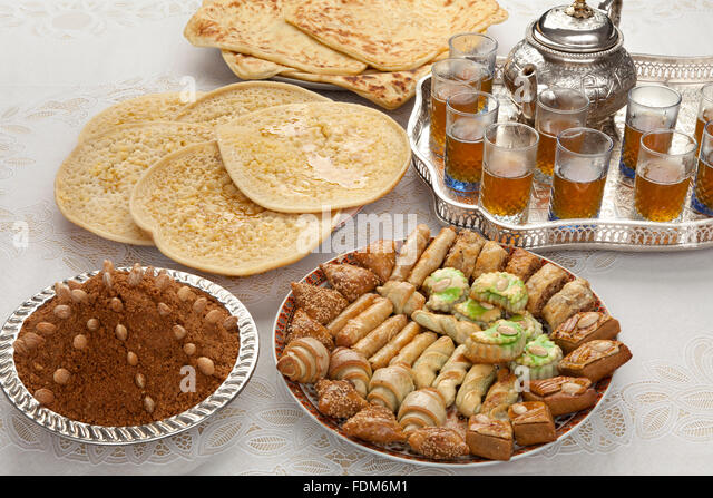 Eid al fitr stock photos eid al fitr stock images alamy for Authentic moroccan cuisine