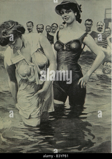 Bathing Suit 1900 Stock Photos & Bathing Suit 1900 Stock ...