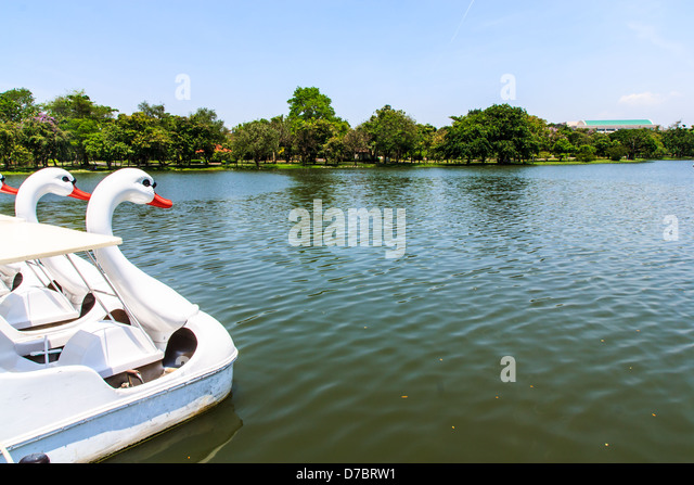 Old Boat In Garden Stock Photos Old Boat In Garden Stock