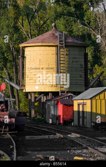Old Train Depot And Water Tank 33