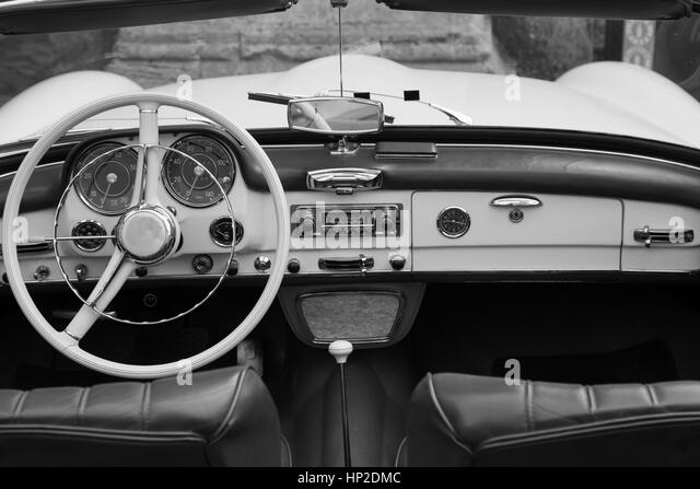 luxury car black and white stock photos images alamy. Black Bedroom Furniture Sets. Home Design Ideas