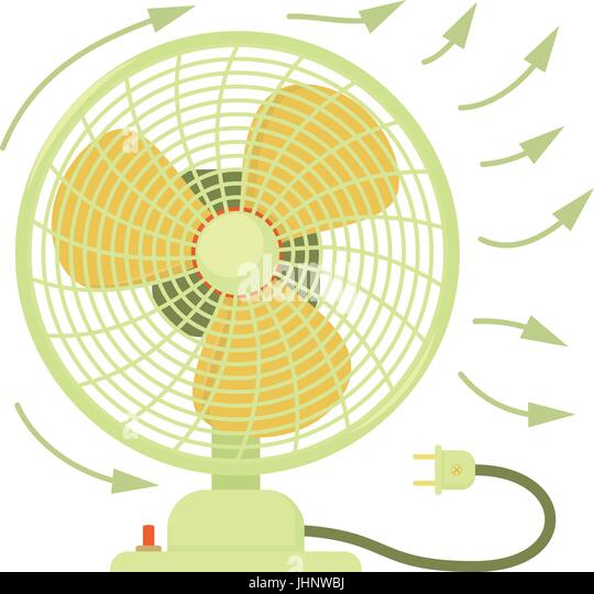 Electric Fan Cartoon : Electric fan domestic stock photos