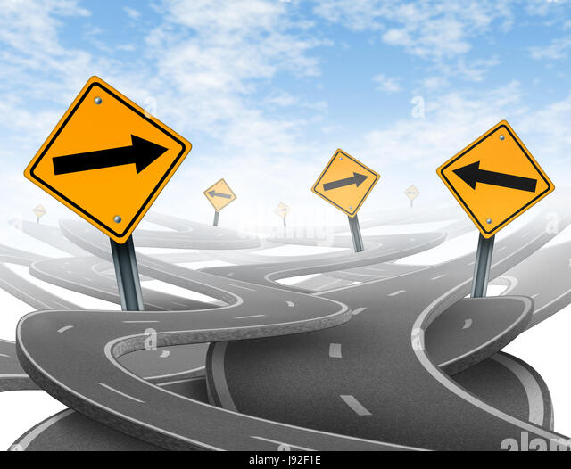 Dilemma roads stock photos dilemma roads stock images for Strategic design consultancy