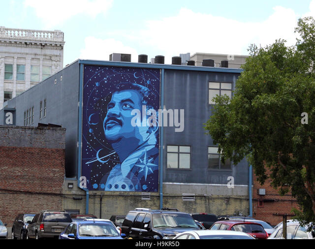 Wall Mural #7 : Tribute To Dr. Neil DeGrasse Tyson By Vance Kelly Part 66