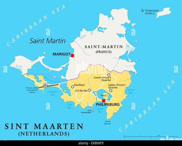 Dutch Antilles Map Stock Photos Dutch Antilles Map Stock Images
