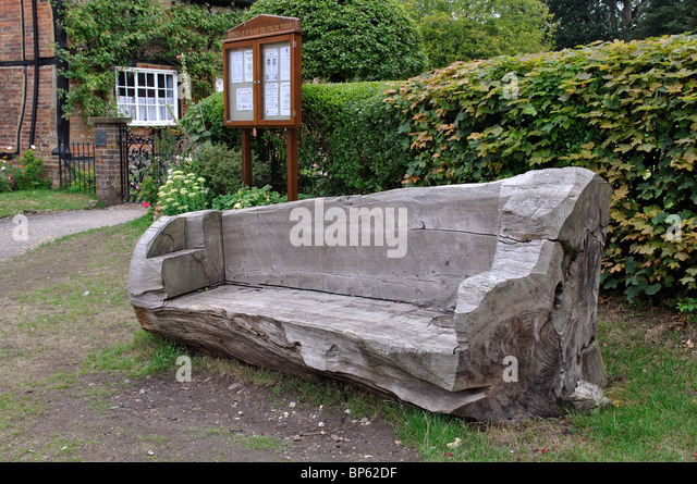 Backyard gym garden benches and tree trunks on pinterest for Tree trunk garden bench