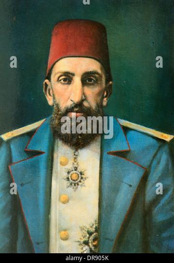 Ottoman Turkish Sultan Abdülhamid Ii (1842-1918) Or ...
