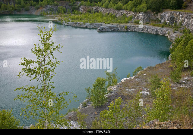 Glanzlichter stock photos glanzlichter stock images alamy for Landscape rock quarry alberta