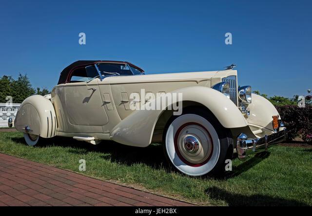 Hershey Auto Show 2017 >> Packard Convertible Stock Photos & Packard Convertible Stock Images - Alamy