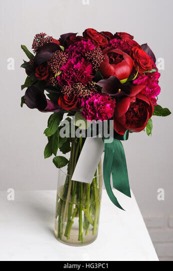how to cut peonies for vase