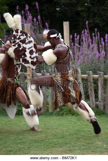 Zulu Spear And Shield Stock Photos & Zulu Spear And Shield