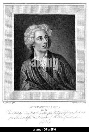 the dunciad as a political satire by alexander pope Alexander pope was born in 1688 in london, england his father, a linen  pope  answered again with a personal satire, the famous dunciad he attempted a.