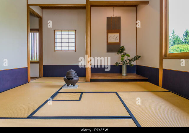 traditional japanese living room stock photos & traditional