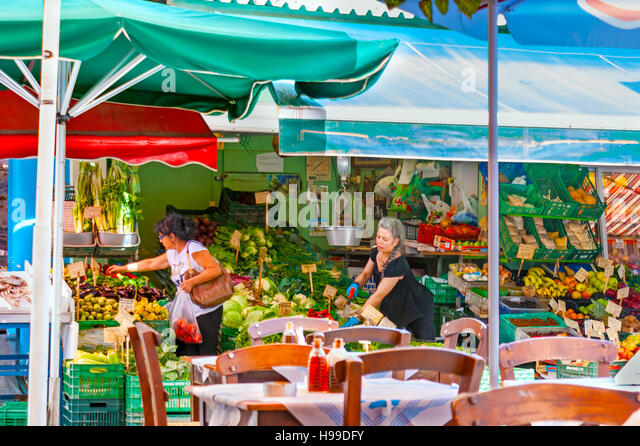 heraklion market crete greece stock photos heraklion market crete greece stock images alamy. Black Bedroom Furniture Sets. Home Design Ideas