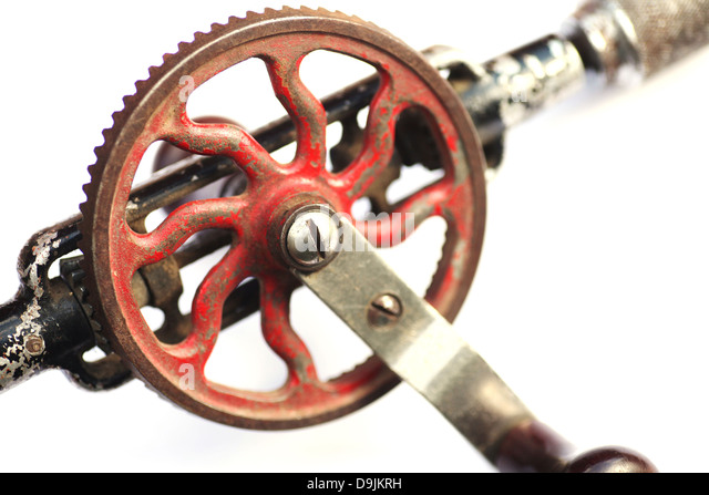 Hand Crank Old Fashioned Drill