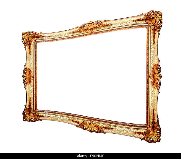 bilderrahmen gold stock photos bilderrahmen gold stock images alamy. Black Bedroom Furniture Sets. Home Design Ideas
