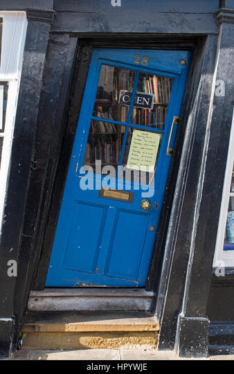 CANTERBURY UK - FEBRUARY 13TH 2017 A slanted door to a shop in the & Canterbury Shop Crooked Door Stock Photos \u0026 Canterbury Shop ...