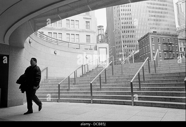 Wall street new york and people black and white stock for 14 wall street 20th floor new york