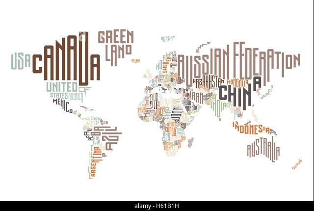 Green hi tech design world map stock photos green hi tech design world map made of typographic country names stock image gumiabroncs Choice Image