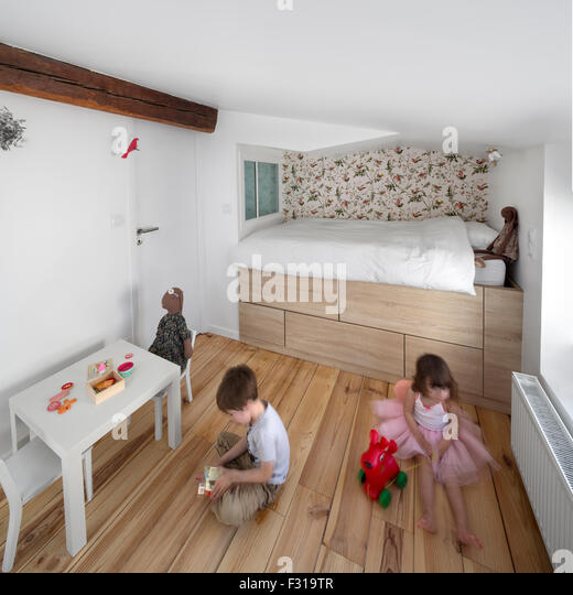 Chambre coucher stock photos chambre coucher stock for Chambre a coucher usa
