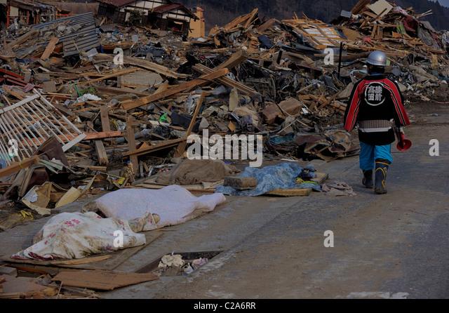 Death Natural Disaster Tsunami Earthquake Stock Photos ...