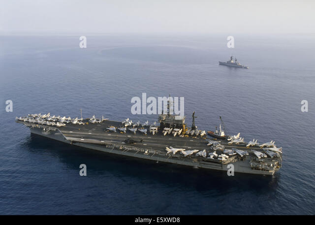 Us navy aircraft carrier stock photos us navy aircraft carrier us navy aircraft carrier kennedy in mediterranean sea stock image sciox Gallery