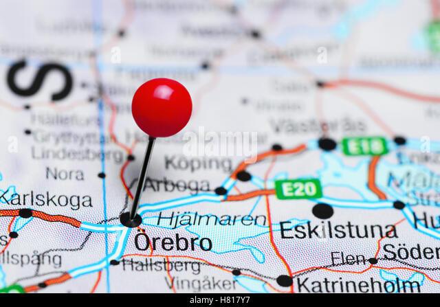 Örebro Stock Photos Örebro Stock Images Alamy - Karlskoga sweden map