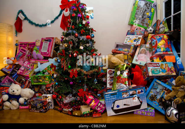 Christmas Toys Presents Stock Photos & Christmas Toys Presents ...