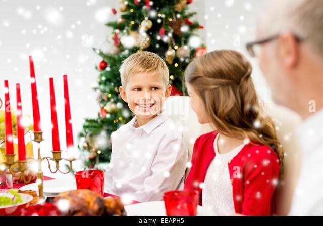 Little Kid Eating Turkey Drumstick