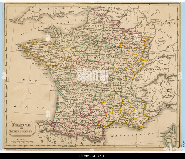 France Maps Stock Photos France Maps Stock Images Alamy