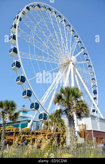 Sky Wheel Myrtle Beach Boardwalk South Carolina USA