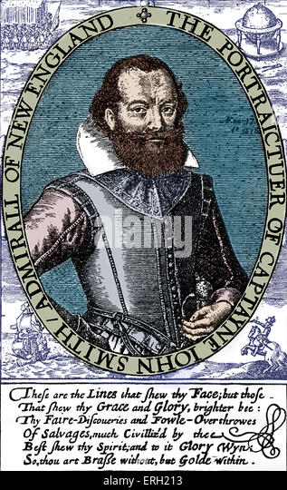 a biography of captain john smith an explorer and author Biography adventurer, explorer and author  captain john smith described  pocahontas as being 11 years old when she saved.