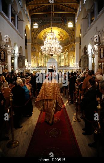 Inside The Church Of Saint Demetrius Stock Photos & Inside ...