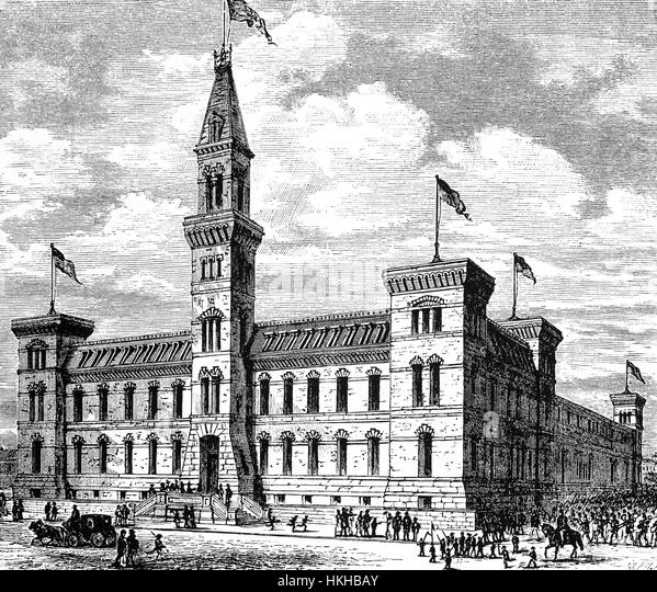 1879 The Seventh Regiment Armory Also Known As Park Avenue Is A
