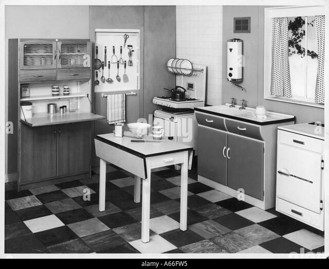 1960s Kitchen 1960s kitchen stock photos & 1960s kitchen stock images - alamy