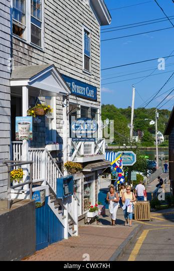 Bridge Street Cafe Boothbay Harbor Maine