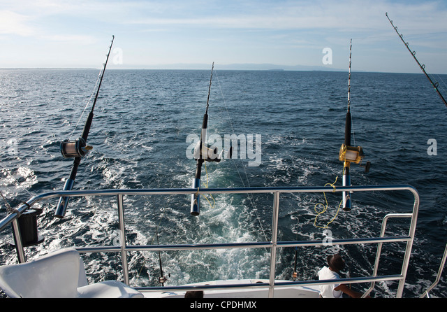 Deep sea fishing boat stock photos deep sea fishing boat for Deep sea fishing mexico