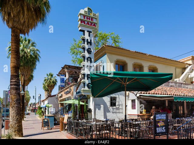Palm springs downtown stock photos palm springs downtown for Shopping in palm springs ca