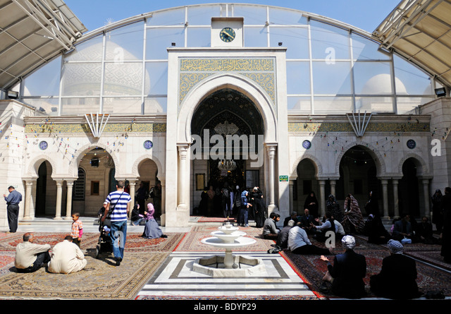 Non Muslim Perspective On The Revolution Of Imam Hussain: Shia Mosque Stock Photos & Shia Mosque Stock Images