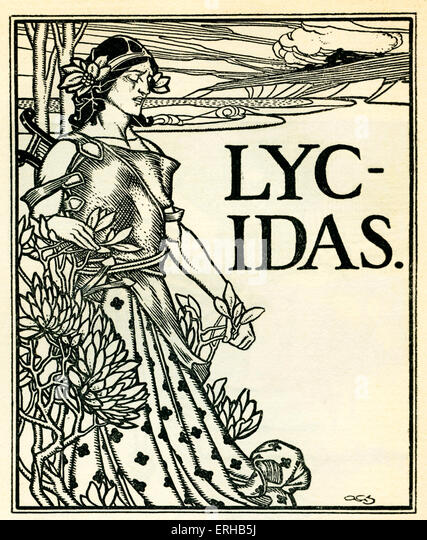 lycidas by milton Milton's epigram labels lycidas a monody: a lyrical lament for one voice but the poem has several voices or personae, including the uncouth swain.