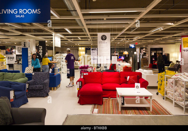 Perfect IKEA Furniture Warehouse Store, Plymouth Meeting, Pennsylvania, USA   Stock  Image
