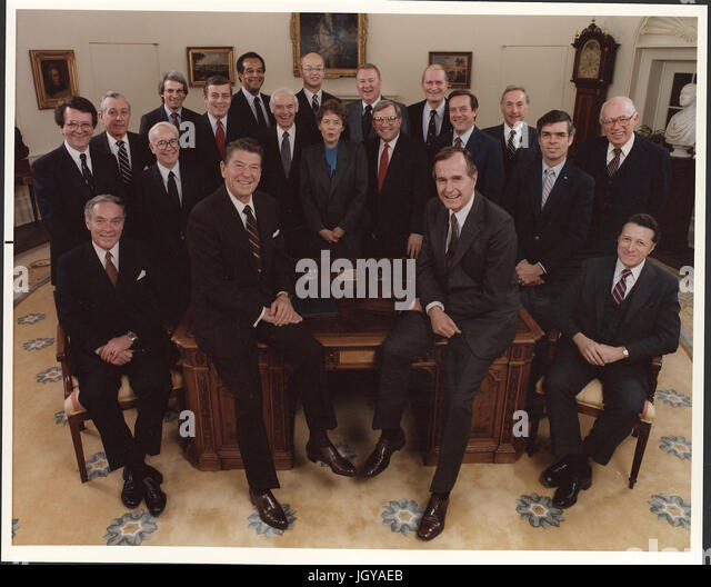 Reagan Cabinet Stock Photos & Reagan Cabinet Stock Images - Alamy