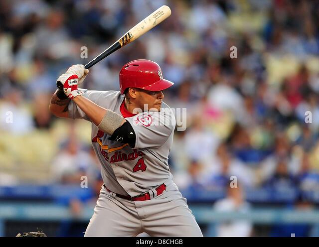 Yadier Molina Catching 2013 St Louis Cardinals Cat...