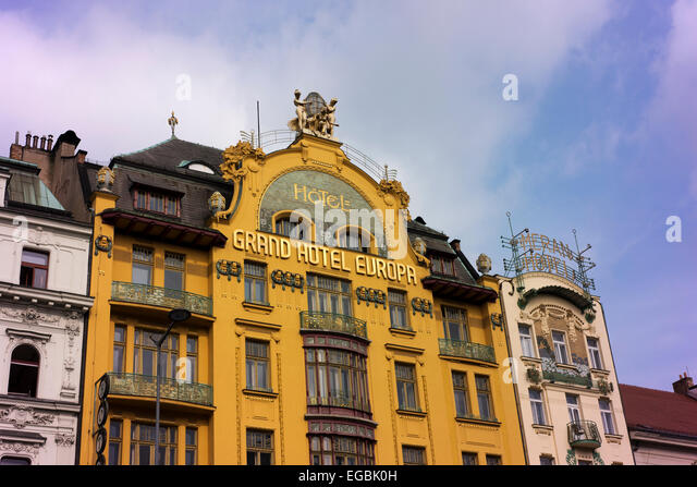 Grand hotel europa stock photos grand hotel europa stock for Hotel europa prague