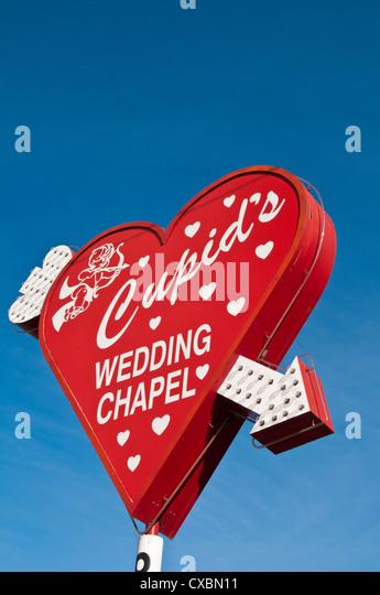 Cupids Wedding Chapel Las Vegas Nevada United States Of America North
