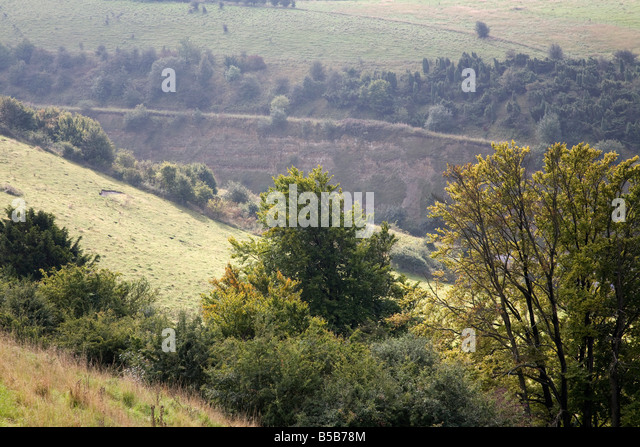 Aston Rowant United Kingdom  city pictures gallery : aston rowant chilterns oxfordshire Stock Image