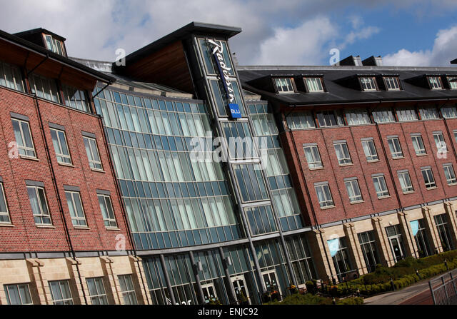 Radisson Blu Hotel Durham Exterior Durham City Centre Stock Photo