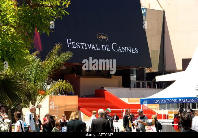 Cannes film festival stock photos cannes film festival stock images alamy - Date festival de cannes ...