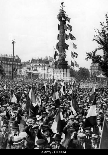 Image result for demonstration in paris sept 4, 1936