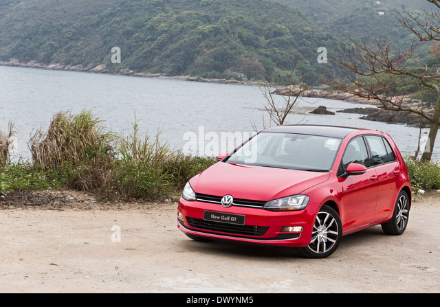volkswagen golf stock photos volkswagen golf stock. Black Bedroom Furniture Sets. Home Design Ideas